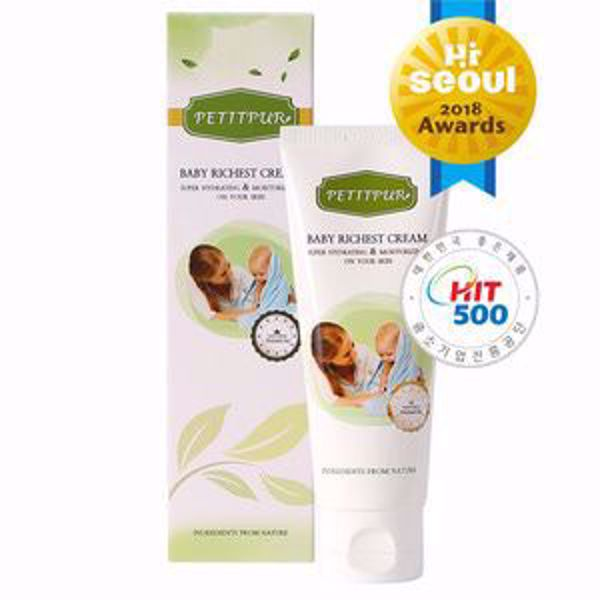 [PETITPUR] BABY RICHEST CREAM 100ml SUPER HYDRATING & MOISTURIZING ON YOUR SKIN
