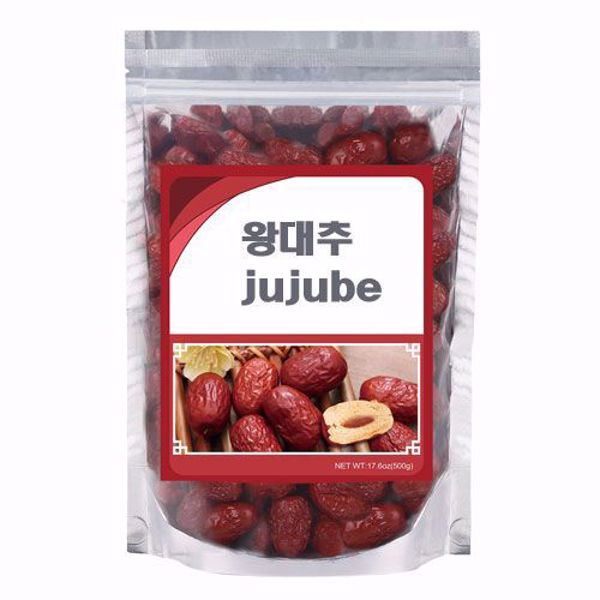 [Work Spirit] dried raw jujube 왕대추 말린것 - 1 lbs (450 g)