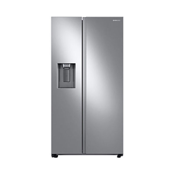 [Samsung]27.4 cu. ft. Large Capacity Side-by-Side Refrigerator in Stainless Steel(RS27T5200SR)